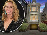 Julia Roberts drop $8.3m on a five level pied a terre in San Francisco's Presidio Heights