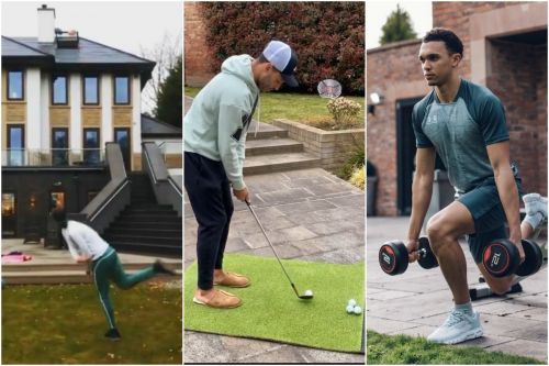 Alisson reveals ridiculous training routine while Ox turns to golf at home