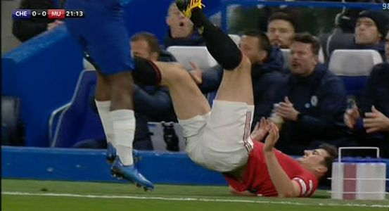 Man Utd captain Harry Maguire lucky to avoid red card against Chelsea, agree Roy Keane and Jamie Carragher