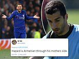 Arsenal fans joke Chelsea stars have links to Armenia before Europa League final