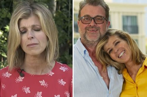 Kate Garraway says her husband Derek Draper 'could be locked in a coma forever'
