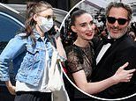 Joaquin Phoenix 'welcomed his first child with Rooney Mara a month ago'