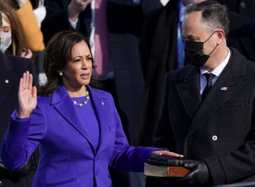 Kamala Harris sworn in as America's first-ever female vice president