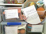 Wife's simple 'no waste' dinner system that saves her time and valuable money