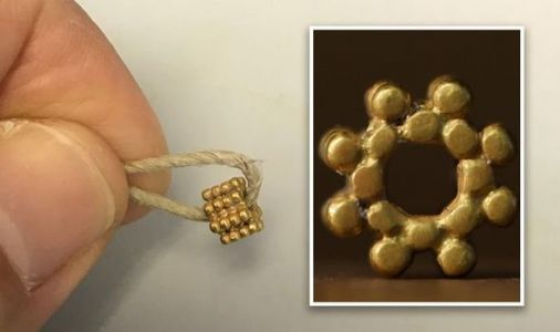 Archaeology news: 'Rare' piece of 3,000-year-old gold jewellery unearthed in Israel