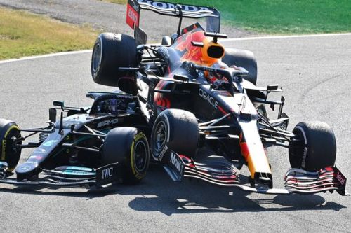Max Verstappen reacts to claim he'd have punched Lewis Hamilton if Monza crash was earlier