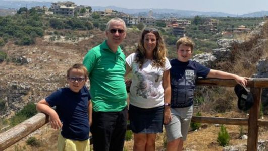 Massive blast destroyed our home, says NI mum Maxine Reid in Beirut