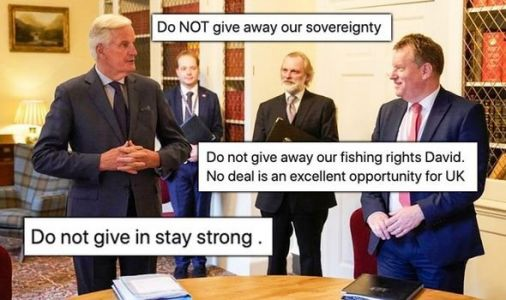 'Don't sell US out!' Britons order Frost to stand strong after Brexit dinner with Barnier