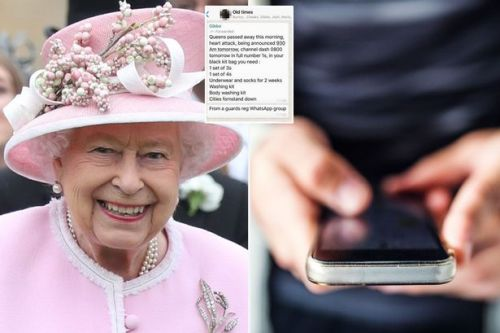 Royal Navy admits it accidentally started the 'Queen is dead' WhatsApp rumour