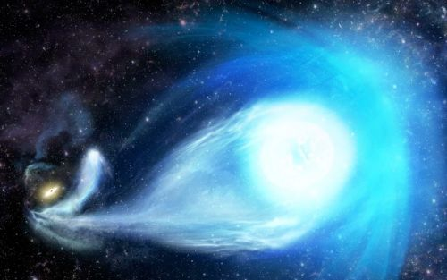 Milky Way's central black hole flings star out of galaxy