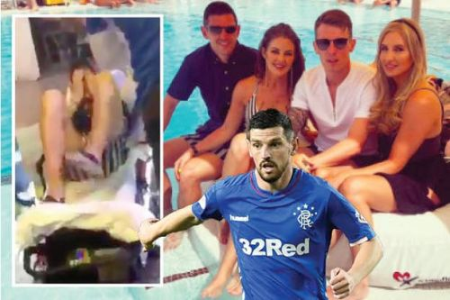 Rangers star Graham Dorrans 'bottled by thug in Ibiza holiday attack'