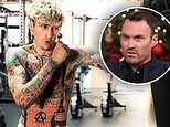 Machine Gun Kelly shows off his sculpted torso and reveals workout routine
