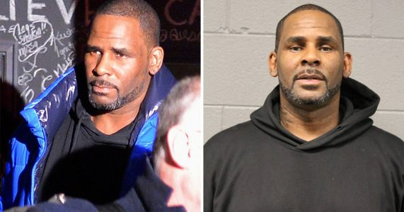 R Kelly mugshot released after singer is charged with 10 counts of sexual assault