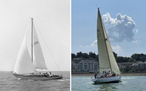 Classic racing yacht restored to former glory