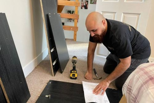 Man makes fortune building other people's IKEA furniture - making 500 pieces