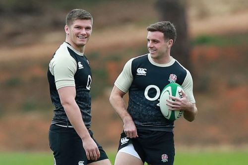 Jonny Wilkinson: I could tell from start Ford and Farrell would be England stars
