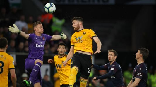 Leno 3/10 as Arsenal's top-four hopes take hit in loss at Wolves