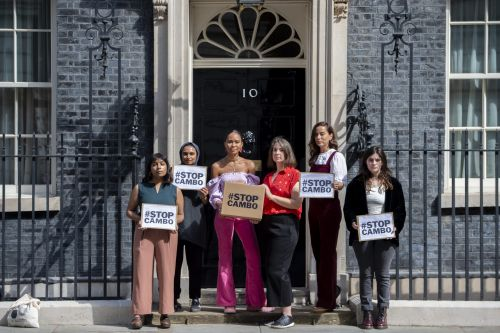 Taking the Stop Cambo campaign to Downing Street