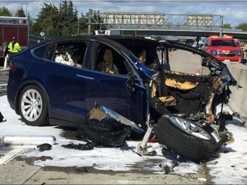 The NTSB said Tesla's Autopilot and an inattentive driver were likely factors in a fatal 2018 crash