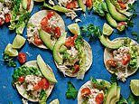 Come out of your shell! Crab tabs with chilli, lime and avocado