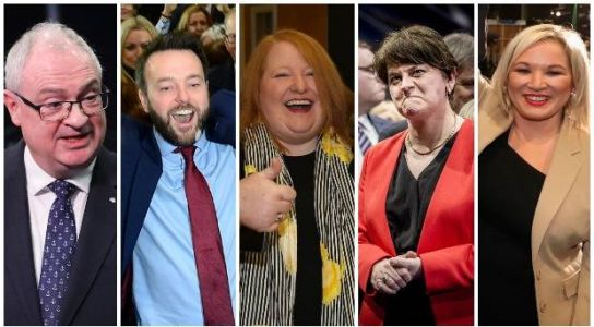 Focus switches to Northern Ireland Assembly as Alliance and SDLP celebrate big gains