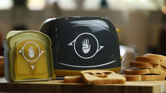 Bungie is selling a Destiny toaster that burns the logo into your bread