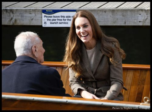 """""""Down to Earth"""" Duchess of Cambridge spends the day in the Lake District"""