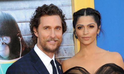 Matthew McConaughey's curly-haired son looks identical to famous dad in rare photo