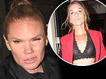 Victoria Beckham's sister Louise Adams and Bake Off star Candice Brown worse for wear