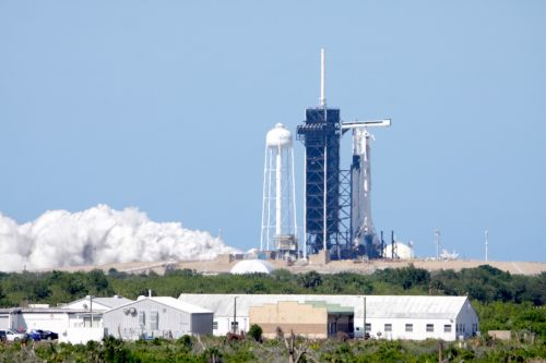 NASA clears SpaceX crew capsule for first astronaut mission