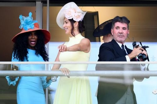 Simon Cowell and girlfriend Lauren joined by his ex Sinitta for Royal Ascot