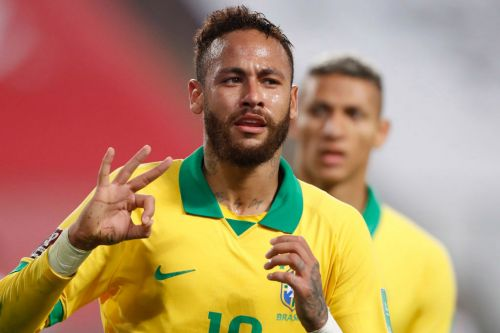 Neymar hits hat-trick to move past Brazil's Ronaldo and behind only Pele on list of all-time goalscorers