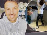 Peter Andre shares sweet video of daughter Amelia, 6, and son Theo, 3, as they dance to Elton John