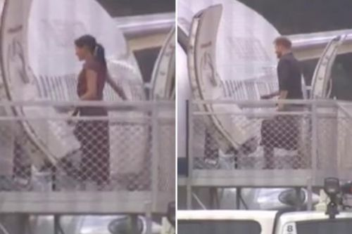 Meghan Markle and Harry arrive on Fraser Island - but Prince will take the lead while pregnant duchess rests
