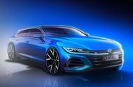 New Volkswagen Arteon Shooting Brake revealed in sk