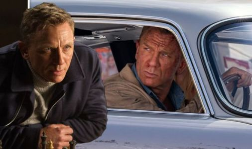 James Bond HORROR: New No Time To Die photo sees 007 in death-defying car chase