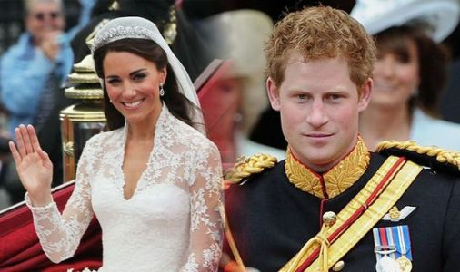 What Prince Harry said that made Kate Middleton cry on her wedding day