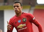 Manchester United 5-2 Bournemouth: Mason Greenwood at the double for Champions League-chasing hosts