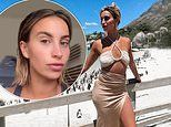 Ferne McCann showcases her glowing tan as she gets back to everyday life after South Africa trip