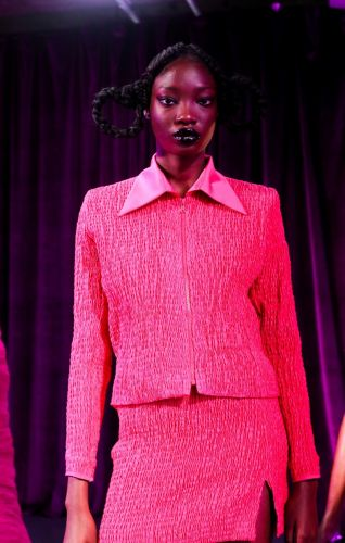 Feben's first LFW show was an ode to hate-wearing clothes over lockdown