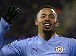 Dinamo Zagreb 1-4 Manchester City: Gabriel Jesus hat-trick and a Phil Foden strike seal win