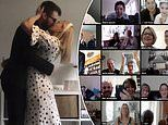 Couple who could not have their dream wedding due to the lockdown decided to tie the knot on Zoom