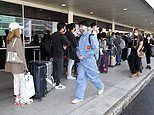 More than 15,000 Australians left the country in the fortnight after PM said 'don't travel abroad'