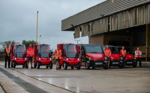 Royal Mail begins trials of new electric delivery vehicles in Britain's cities