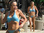 Gary Lineker's ex-wife Michelle Cockayne, 55, shows off her age-defying physique in a bikini