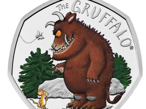 Gruffalo featured on new 50p coin