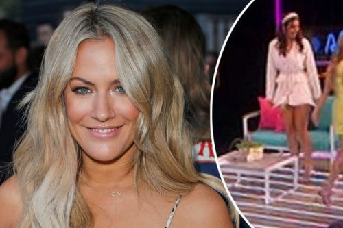 Caroline Flack swerves hug with Francesca after she called her a 'dirty paedo' claim Love Island's Aftersun viewers