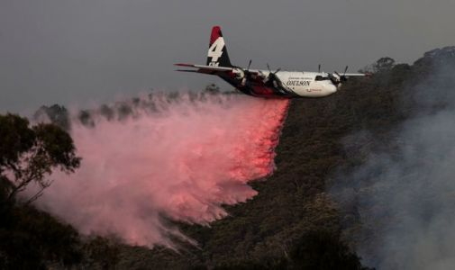 Australia bushfires: Water tanker plane feared to have crashed while fighting blazes