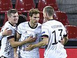 Germany 3-3 Switzerland: Chelsea duo Timo Werner and Kai Havertz score in six-goal thriller