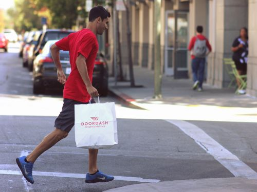 California's contractor law was aimed at Uber and Lyft, but it could cause much bigger problems for food delivery startups
